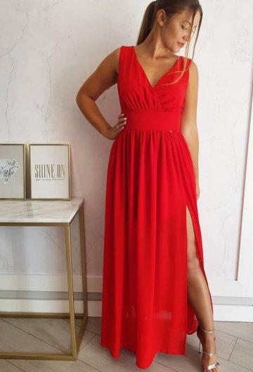 Sukienka ALISSON Czerwona