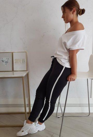 Spodnie Dresowe Lalu Czarne