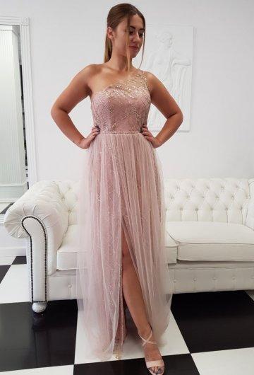 Sukienka Na Jedno Ramie 4