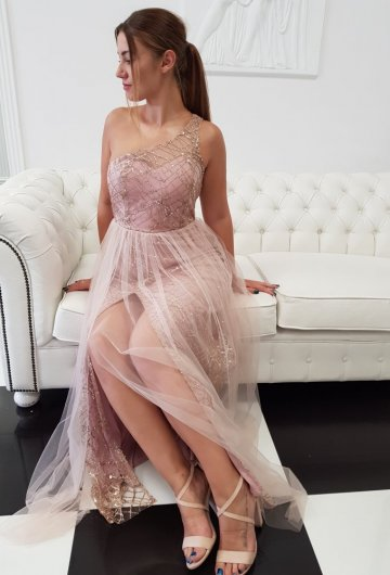 Sukienka Na Jedno Ramie 6