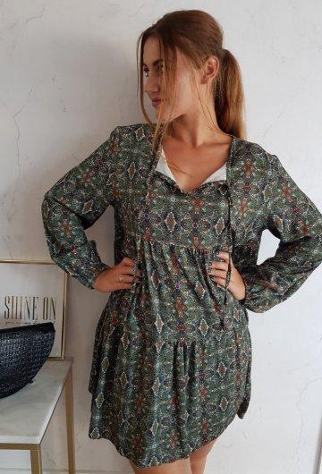 Sukienka Carina Zielona 3
