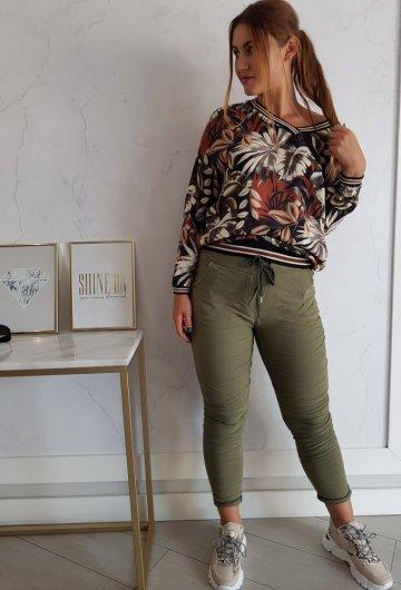 Spodnie Basic Khaki