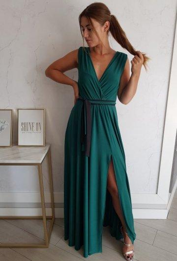 Sukienka Salma Zielona 1