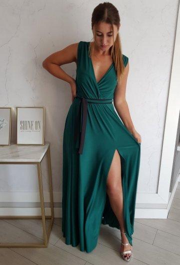 Sukienka Salma Zielona 2