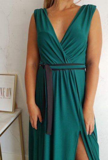 Sukienka Salma Zielona 6