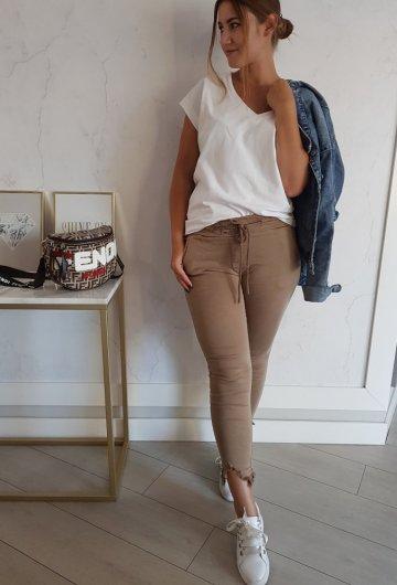 Spodnie Luisa Camel