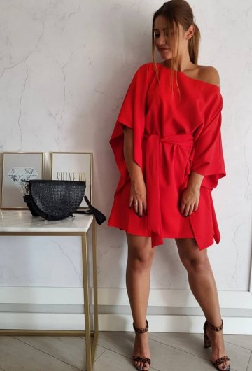 Sukienka Kimono Czerwone