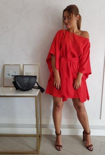 Sukienka Kimono Czerwone 1