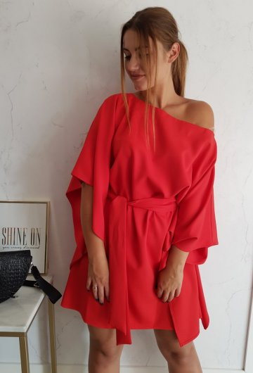 Sukienka Kimono Czerwone 2