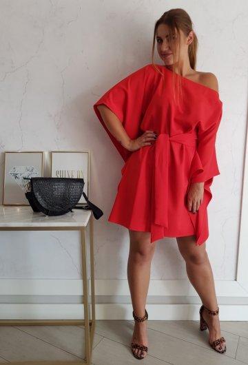 Sukienka Kimono Czerwone 3