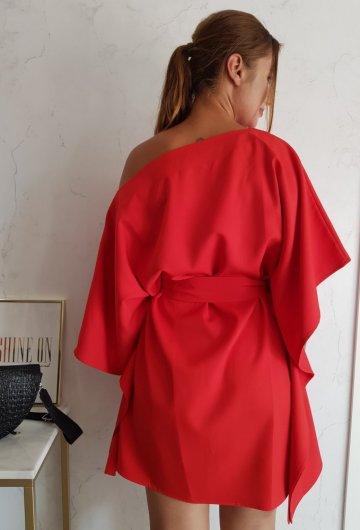 Sukienka Kimono Czerwone 4