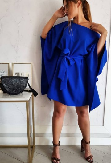 Sukienka Kimono Szafir