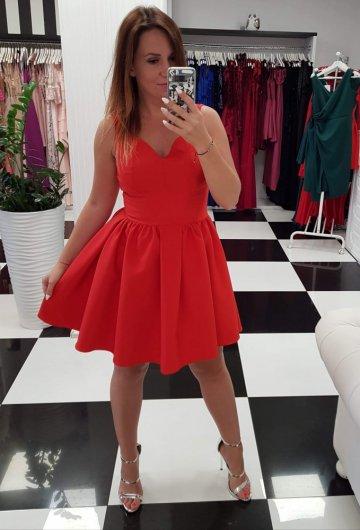 Sukienka Mola Czerwona