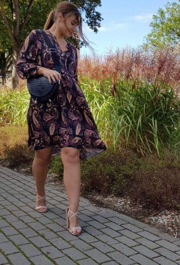 Sukienka Barcelona Czarna