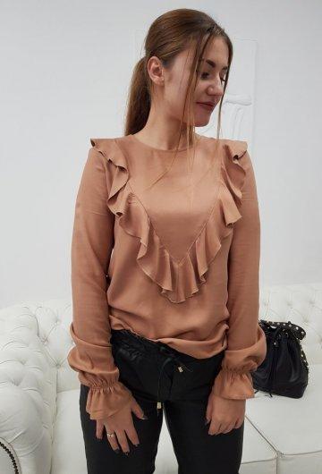 Bluzka Eva Camel
