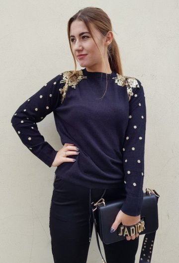 Sweter Dots 3
