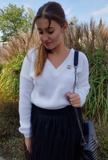 Sweter Coco Biały