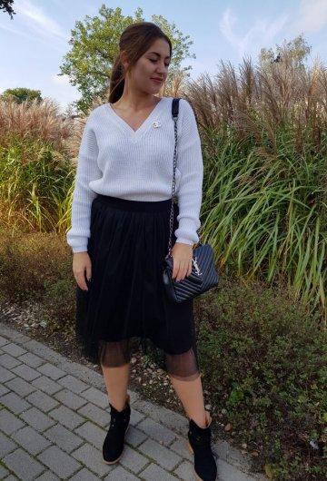 Sweter Coco Biały 1