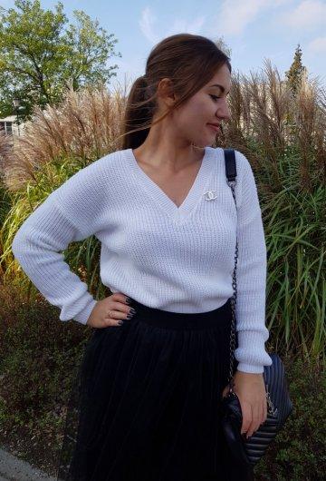 Sweter Coco Biały 2