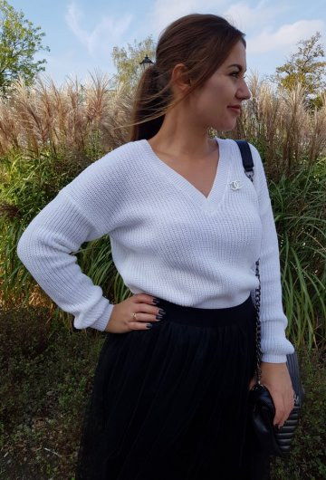 Sweter Coco Biały 3