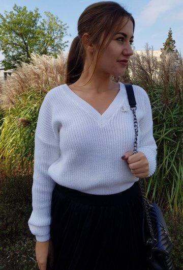 Sweter Coco Biały 4