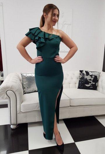 Sukienka Hiszpanka Zielona