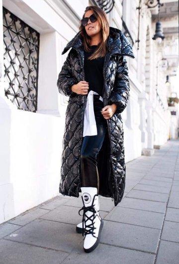 Płaszcz Lakierowany