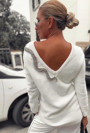 Sweterek Wąż