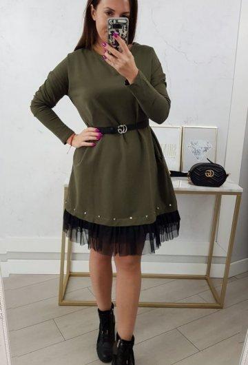 Sukienka Perfect Khaki 1