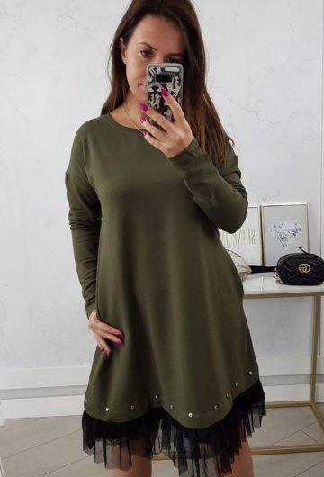 Sukienka Perfect Khaki 2