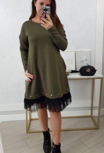 Sukienka Perfect Khaki 3