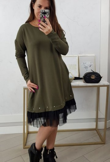 Sukienka Perfect Khaki 4