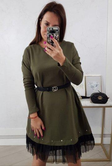 Sukienka Perfect Khaki 5