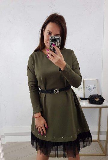 Sukienka Perfect Khaki 6