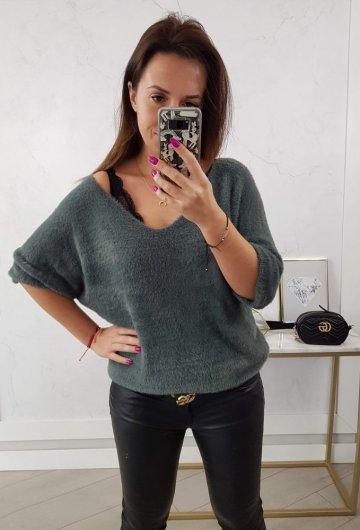 Sweter Alpaka II Khaki
