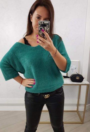 Sweter Alpaka II Zielony