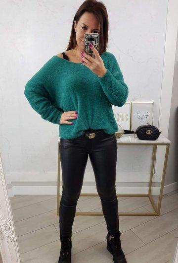 Sweter Alpaka Zielony