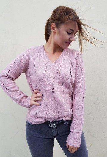 Sweterek Merin Różowy