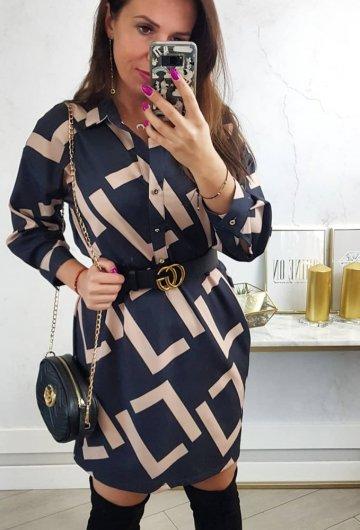 Sukienka Koszulowa Fen