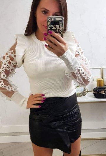 Sweterek May Biały