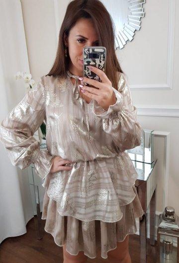 Sukienka Złote Liście