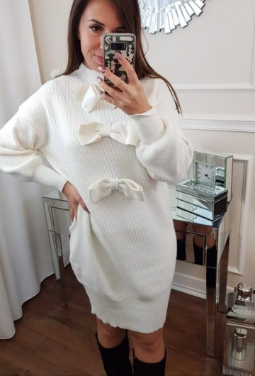 Sukienka Kokarda Ecru