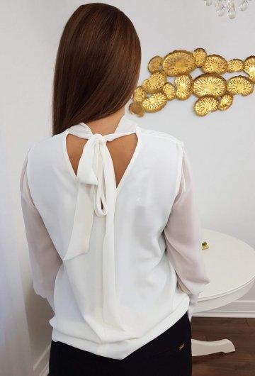 Koszula Wiązana Biała 1