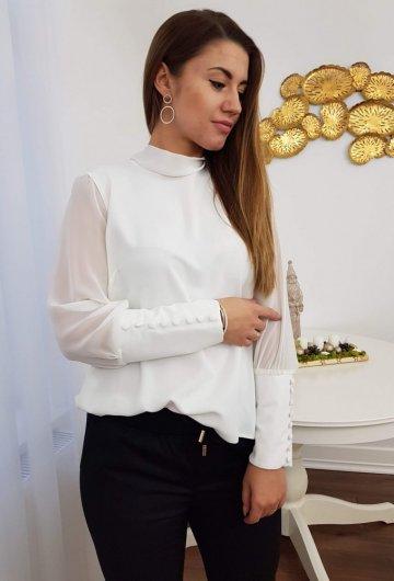 Koszula Wiązana Biała 2