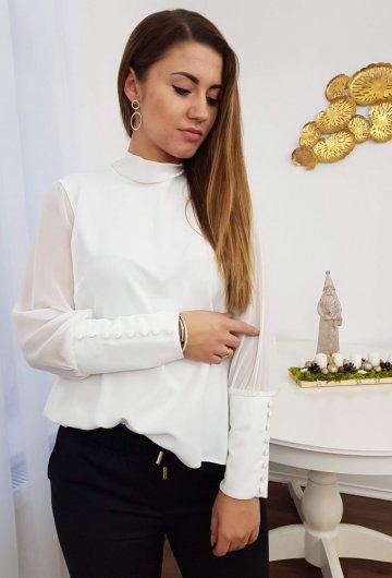 Koszula Wiązana Biała 4