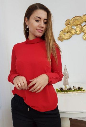 Koszula Wiązana Czerwona