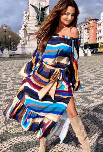 Sukienka Mozajka
