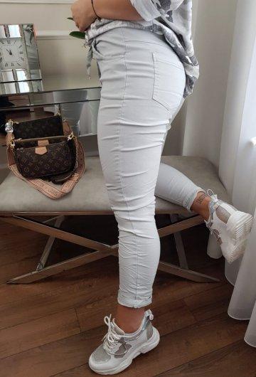 Spodnie Moda Szare 1