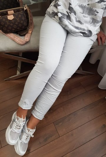 Spodnie Moda Szare 2