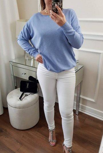 Spodnie Toxic White